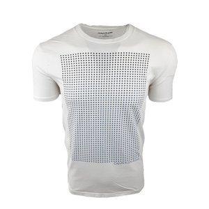 Calvin Klein White Stars Graphic Tee T-Shirt Sz L